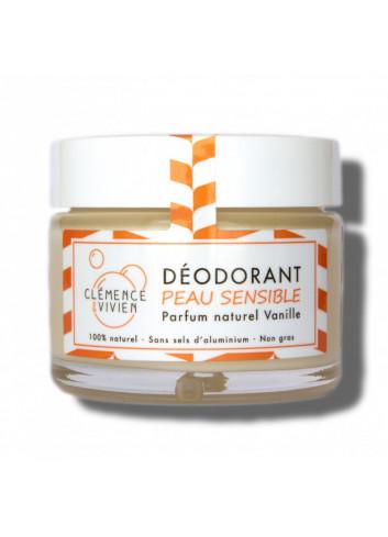 Déodorant crème sans huile essentielle - Vanille