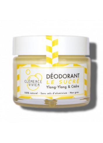 Déodorant crème Le Sucré - Ylang-Ylang & Cèdre