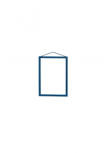 Cadre format A5 - aluminium laqué bleu- moebe- made in denmark