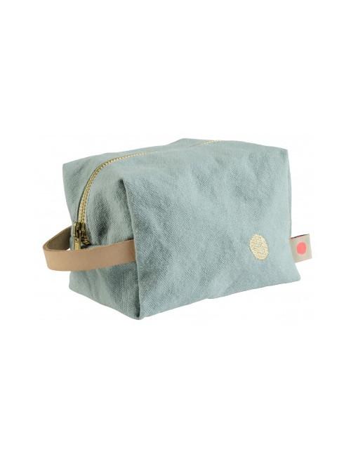 Trousse cube - Iode de la marque La Cerise sur le Gateau