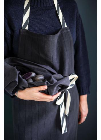 tablier cuisine noir La cerise sur le gateau