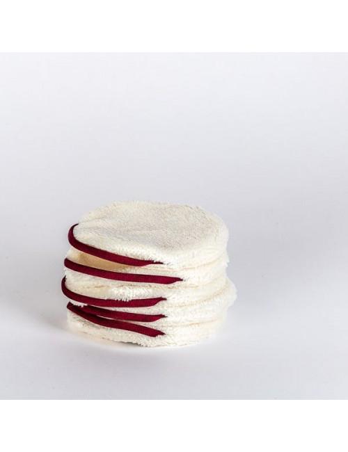 Cotons démaquillants réutilisables Pancakes Paulette Zéro-Déchet