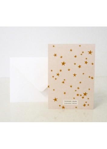 Carte de voeux - Stars