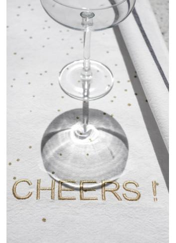 torchon coton cheers