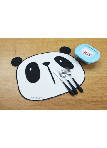 Set de table en vinyle - Panda
