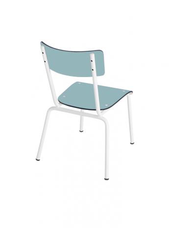 Chaise d'écolier Colette - Bleu Jade Les Gambettes