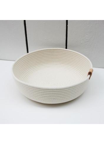 Panier bas L  en coton fabriqué en Belgique