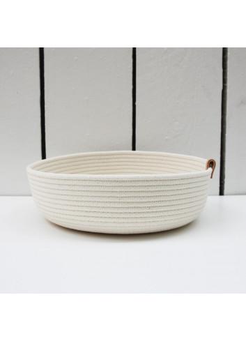 Panier bas en coton fabriqué en Belgique