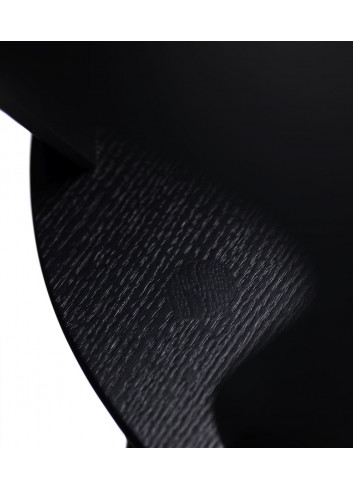 Chaise J45 - Black en chêne FDB Mobler