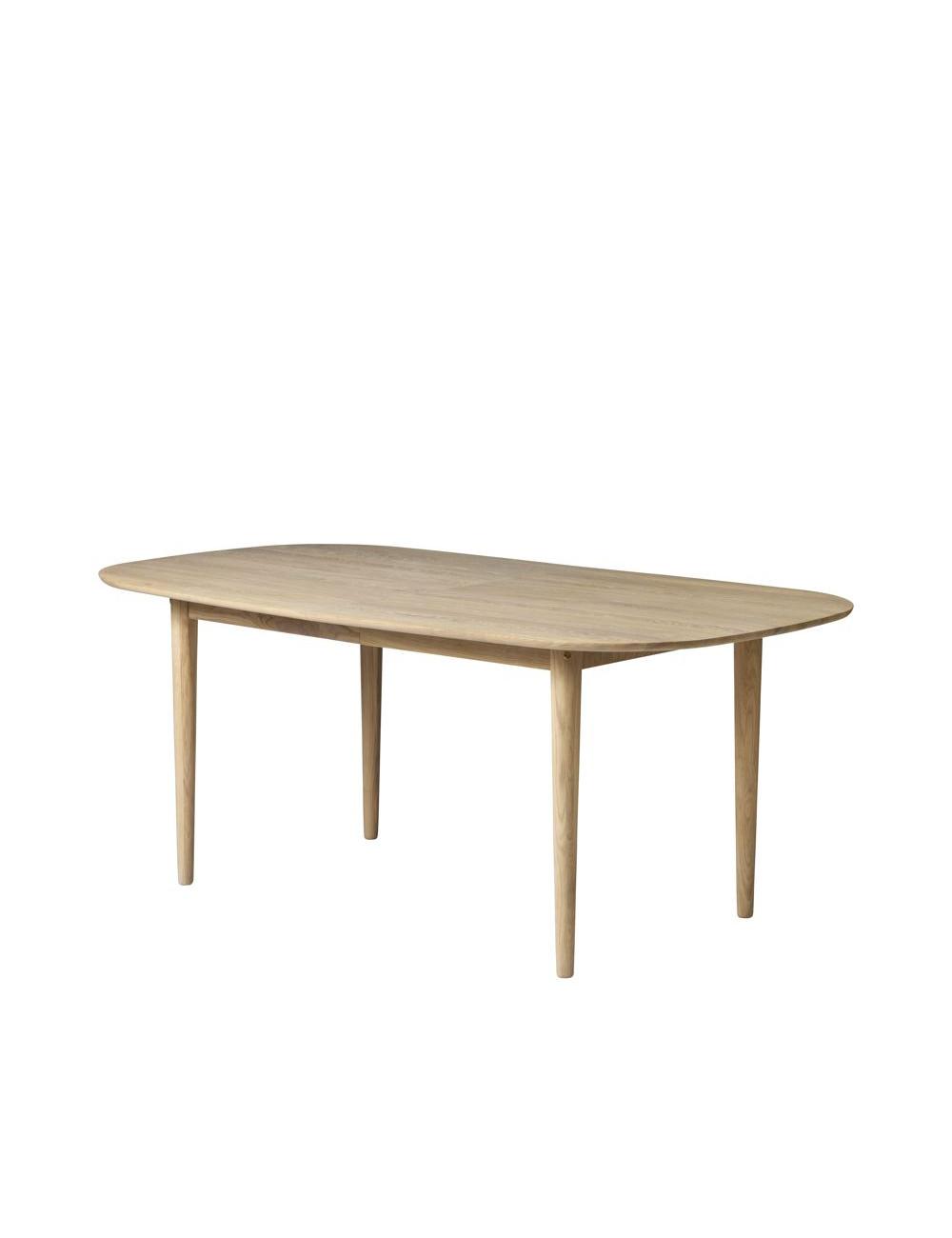 Table extensible C63E en chêne FDB Mobler