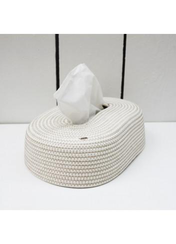 Boite à mouchoir en coton - Boho