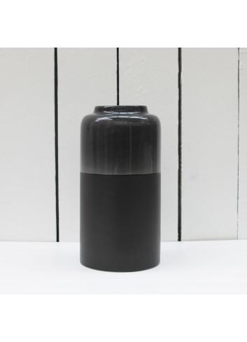 Vase haut Aster - Bois brûlé