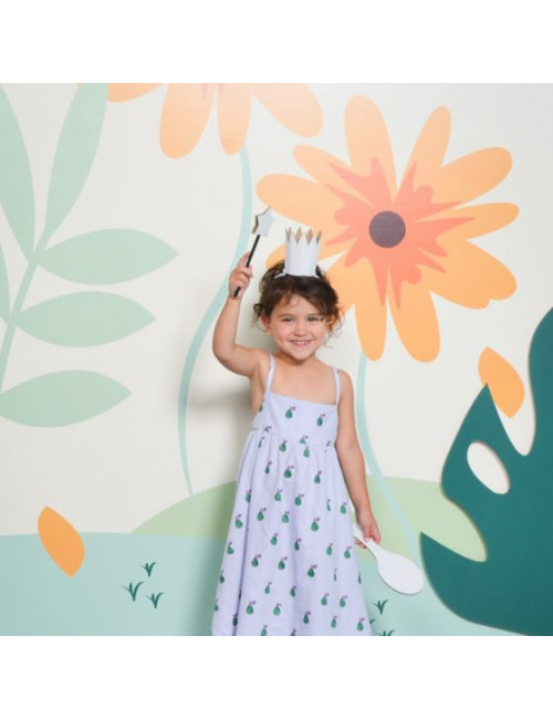Princesse Mister Tody - à colorier