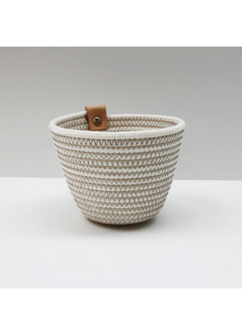 Pot en coton Koba fabriqué à la main en Belgique