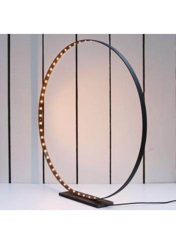 Lampe circulaire Acier & Led - Large