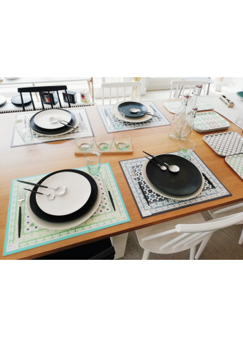 Set de table vinyl Arthus Green made in Belgium