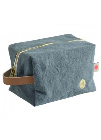 Trousse cube fabriquée au portugal la cerise sur le gateau