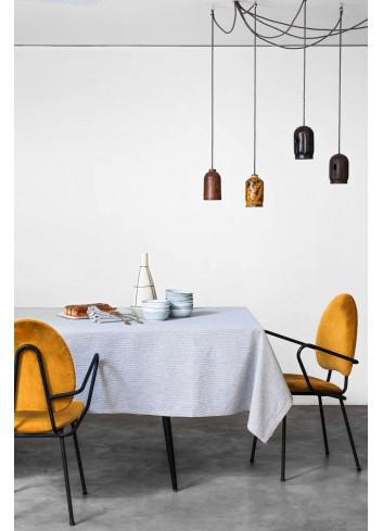 Nappe Finette fabriquée au Portugal par la cerise sur le gateau en lin et coton