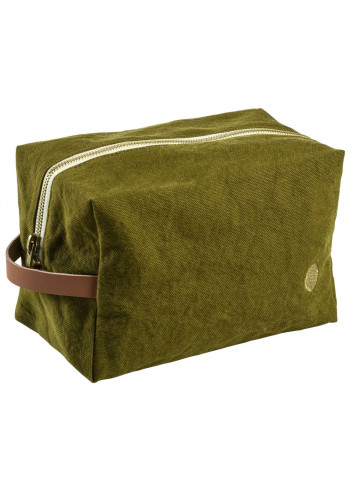 Trousse cube - Lichen en coton La Cerise sur le Gateau