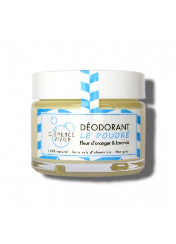 Déodorant crème Le Poudré - Fleur d'oranger & lavande