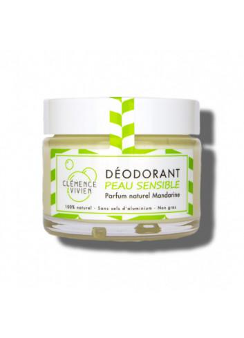 Déodorant crème Peau sensible - Mandarine