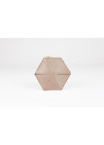 Un portefeuille au design géométrique et original