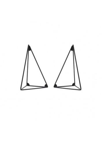 Lot de 2 équerres Pythagoras - Noir