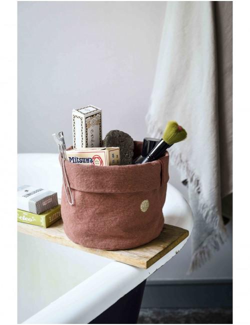 Panier Rhubarbe en coton