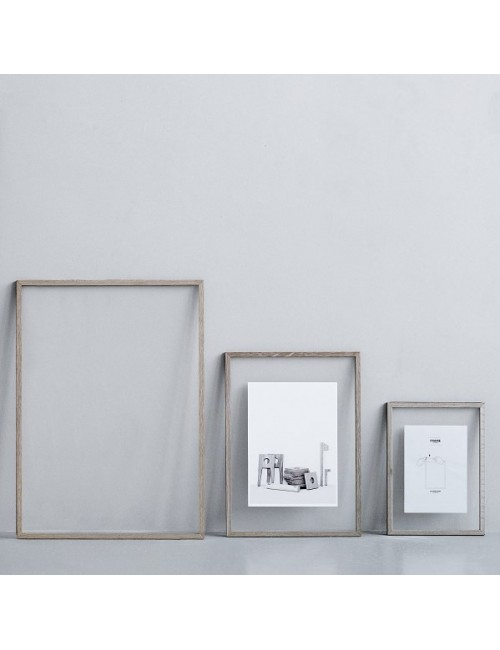 Cadre format A4 - chêne