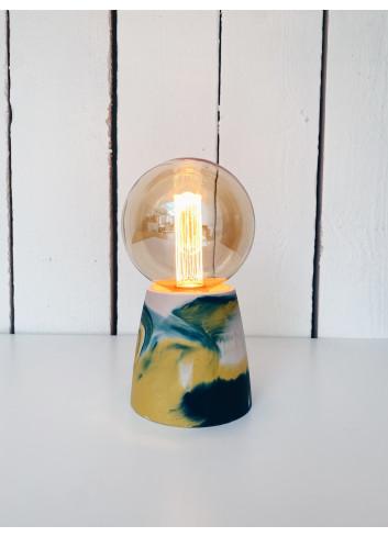Lampe demi cône - Turner rose