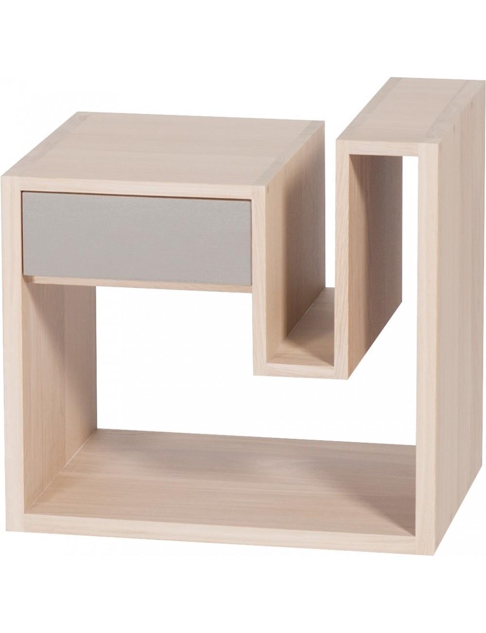 Table de chevets Créneau Anthracite