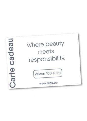 Carte cadeau MIEU électronique - 100 euros