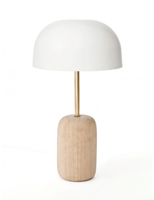 Lampe à poser Nina - blanc - harto- fabriquée au portugal- luminaire