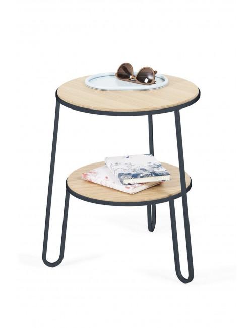 guéridon Anatole harto gris ardoise table basse