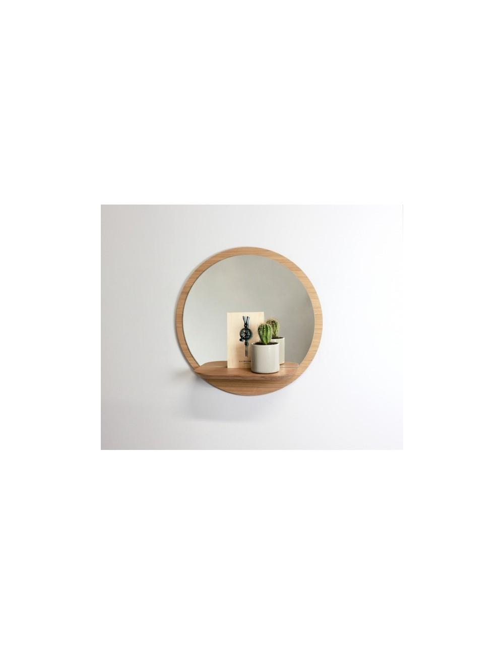 Sunrise - Le grand  miroir avec tablette made in France reine mère