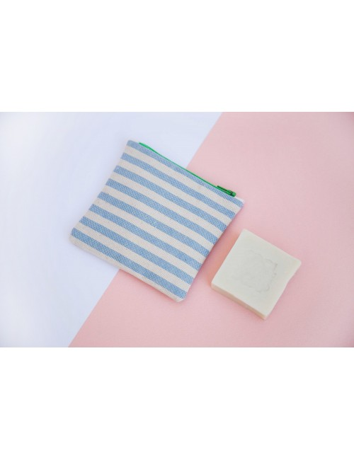 "Sac à savon ""Cool collection"" - bleu clair"