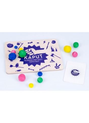 Kaput les jouets libres jeu société pâte à modeler fabriqué en France
