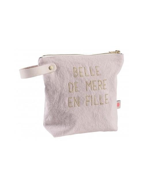"""Trousse """"Belle"""" - Biscuit (petit modèle) de la marque la cerise sur le gateau fabriquée au Portugal"""