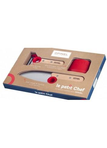 Coffret Le petit Chef opinel fabriqué en france cuisine enfants