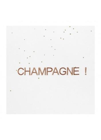 Torchon Champagne la cerise sur le gateau fabrication portugaise