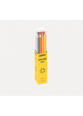 Crayons à colorier omy fabrication italienne