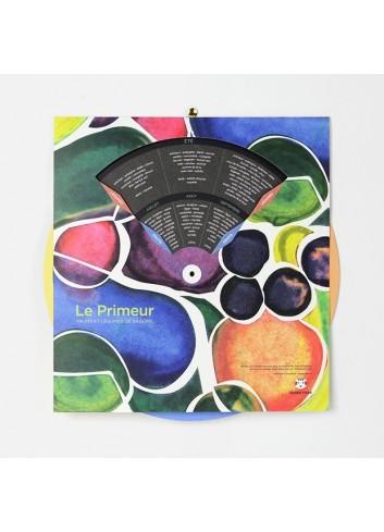 Calendrier des fruits & légumes de saison - Le Primeur papier tigre made in France