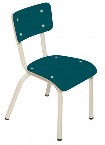 Chaise d'écolier Little Suzie- Bleu canard