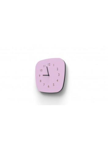 Horloge murale Louise - Vieux rose Les Gambettes accessoire déco coloré