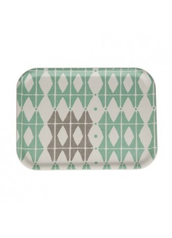 Plateau Square 50 - Vert Mint iris hantverk Made in Sweden