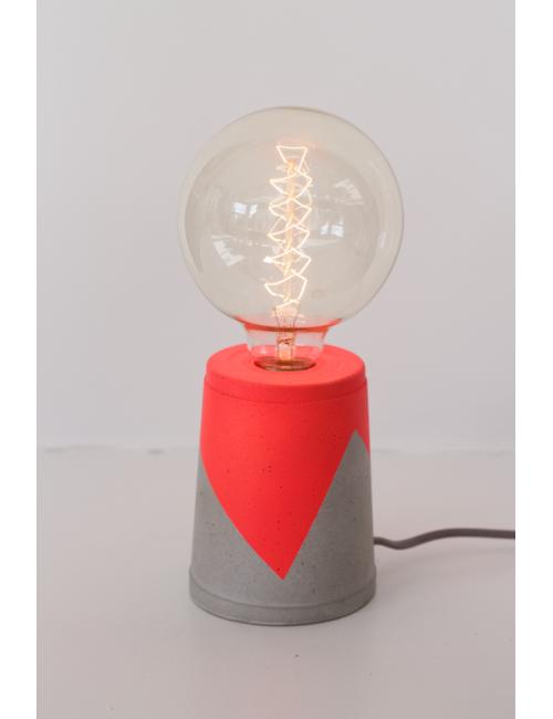 Lampe en béton - Corail les pieds de biche fabriqué en Belgique