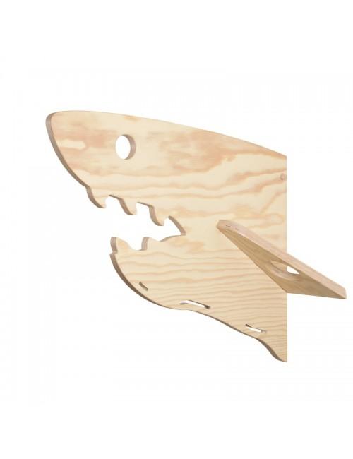 Porte-manteaux - Requin- LARCH- fabrication belge-déco enfant
