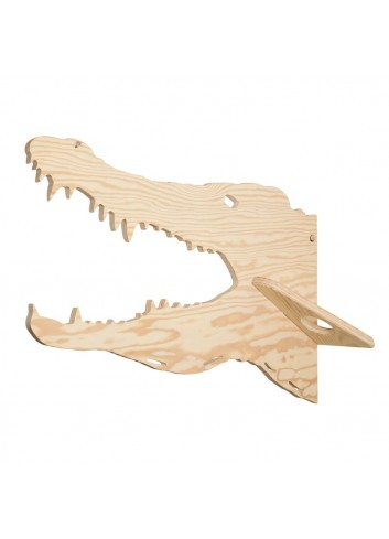 Porte-manteaux - Crocodile- LARCH fabrication belge- déco enfant