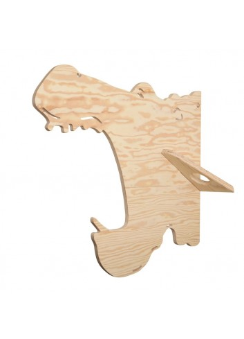 Porte-manteaux - Hippo- LARCH- Made in Belgium- déco jungle enfant