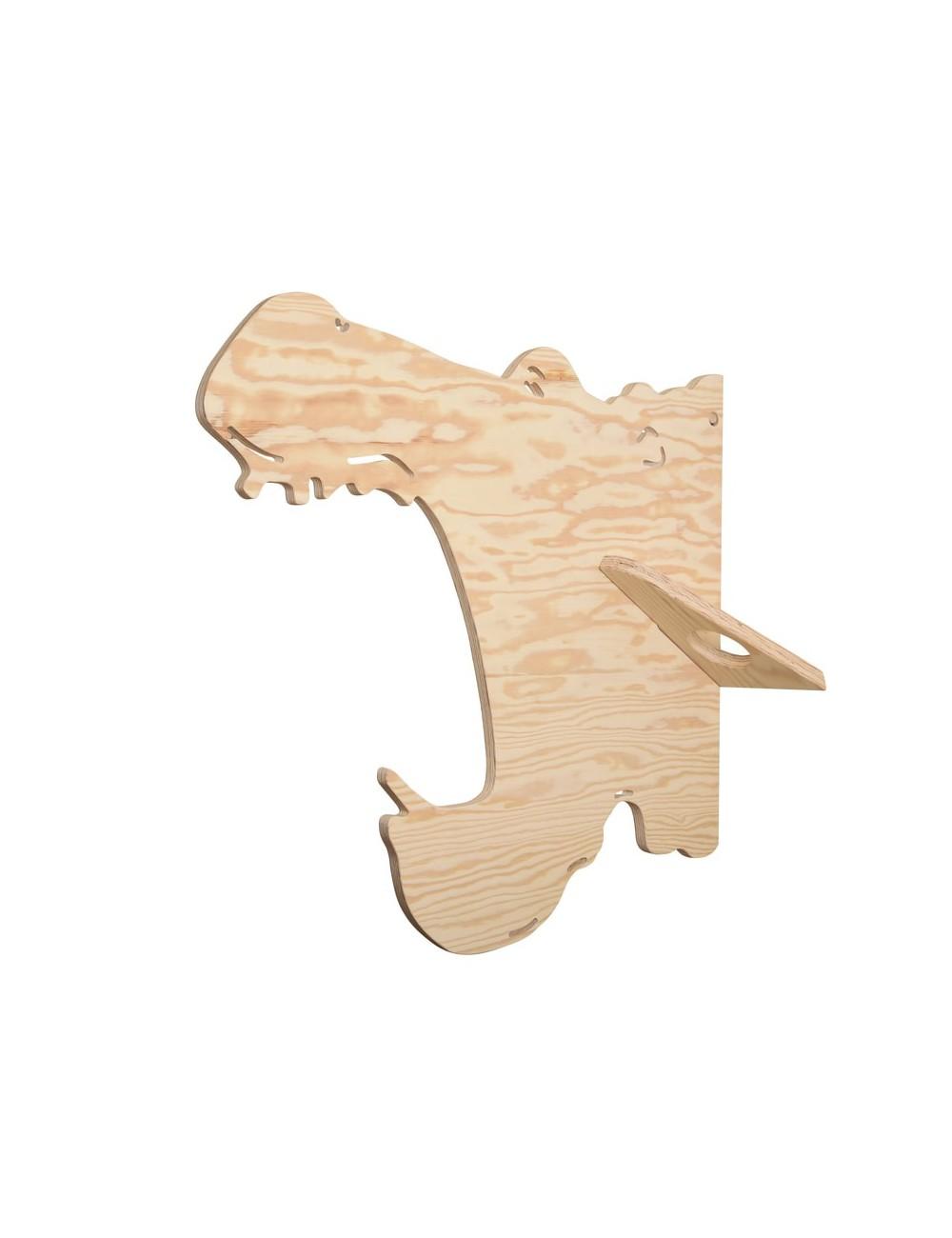 Porte-manteaux - Hippo- LARCH- Made in Belgium- déco jungle enfant